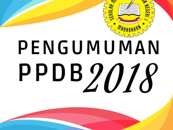 Pengumuman Daftar Siswa Baru Tahun 2018/2019