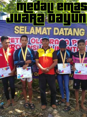 Juara Dayung Tingkat Provinsi